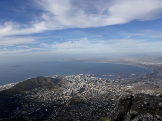 Table Mountain, Cape Town view