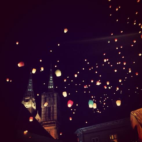 Lanterns over the Cathedral